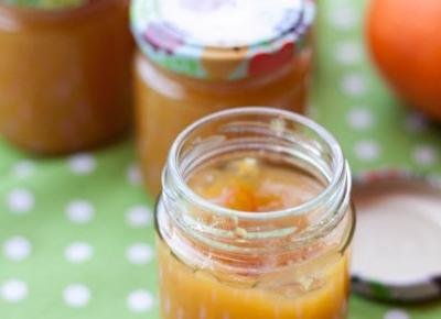 Domowy dżem pomarańczowy bez cukru - Fitkot