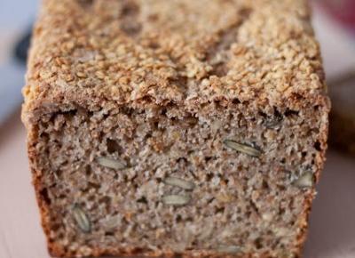 Razowy chleb na zakwasie żytnim z mąką jaglaną i ryżową - Fitkot