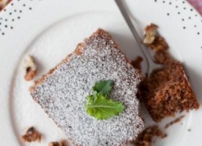 Pełnoziarniste ciasto z kalarepą i cynamonem - Fitkot