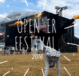 OPEN'ER FESTIVAL 2016 - flawless bananaa