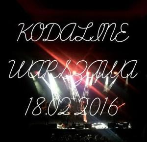 KODALINE WARSZAWA 18/02/2016 - flawless bananaa