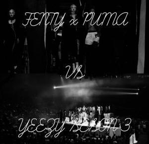 Fenty x Puma vs Yeezy Seson 3 | NYFW | - flawless bananaa