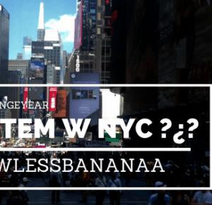 JESTEM W NOWYM JORKU ?¿? - flawless bananaa
