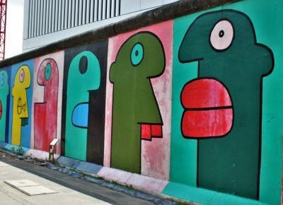 East Side Gallery Berlin - 11 najciekawszych murali na murze berlińskim