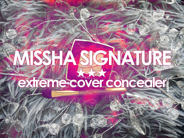 .: 16. MISSHA Signature ★ extreme cover concealer
