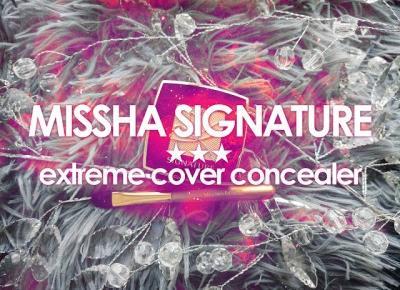 .: 16. MISSHA Signature ★ extreme cover concealer
