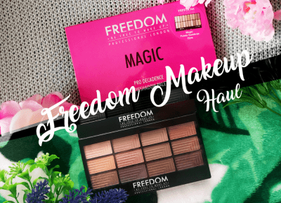 .: 24. Freedom Makeup Haul