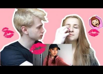 MY BOYFRIEND DOES NATALIEBEAUTYYY MAKE UP TUTORIAL
