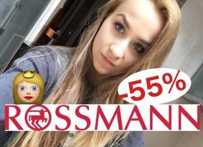 CO KUPIŁAM W ROSSMANIE -49% -55% & CZAS ZNALEŹĆ PRACE