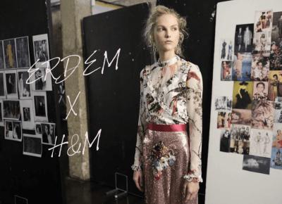 ERDEM X H&M - designer collaboration 2017, Erdem Spring + Resort 2017 | Gabruszel