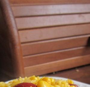 Przepis na słoneczne risotto i kuleczki ryżowe a'a Roślinożerka