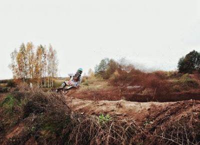 Motocyklowa zapchajdziura