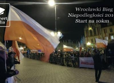 Grafnert Media: Wrocławski Bieg Niepodległości 2019: Start na 10km