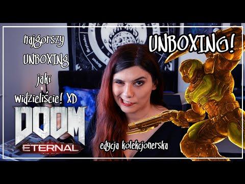 Doom Eternal Edycja Kolekcjonerska Unboxing - najmniej profesjonalny jaki wiedzieliście!