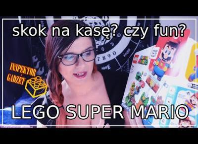 Lego Super Mario - recenzja układajmy razem! Inspektor Gadżet w akcji!
