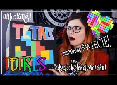 Tetris - edycja kolekcjonerska! unboxing! jedyna na świecie! wow effect!
