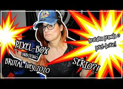 Pixel-Box Brutal Luty 2020 unboxing - brutalna prawda o boxie!
