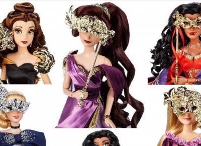 Piękne kolekcjonerskie lalki księżniczek Disneya - pierwsze zdjęcia