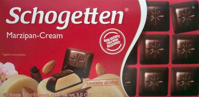 Czekolada marcepanowa w kostkach Marzipan-Cream - Schogetten