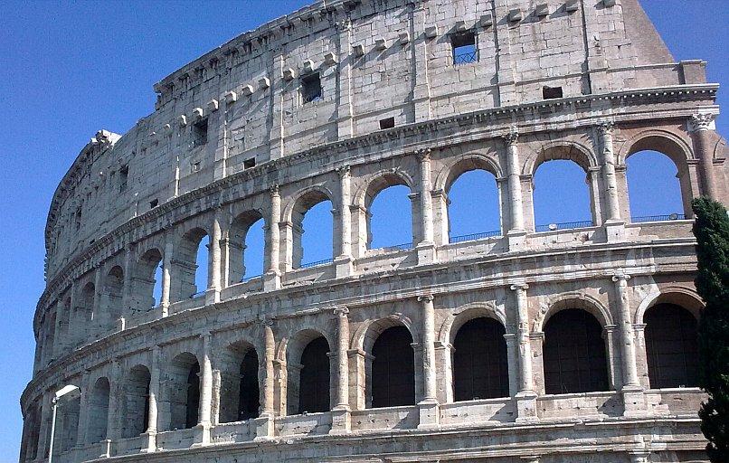 Zwiedzanie Rzymu - wyprawa przez Europę