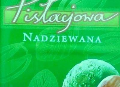 Czekolada nadziewana pistacjowa - Terravita