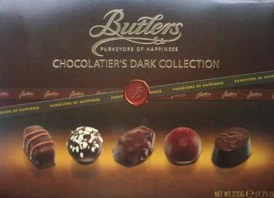 Bombonierka Chocolatier's Dark Collection - Butlers