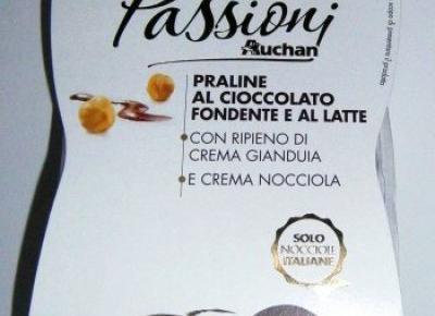 Włoskie pralinki Passioni - Auchan
