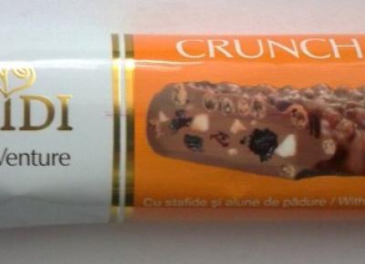 Batonik Crunch Milk - Heidi Chocolat