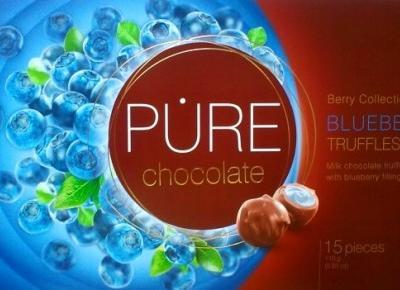 Czekoladowe Trufle o smaku jagody - Pure Chocolate