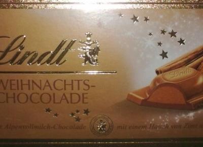 Okolicznościowa mleczna czekolada z cynamonem - Lindt