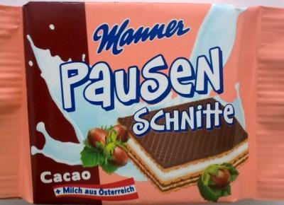 Wafelek Pausen Schnitte - Manner