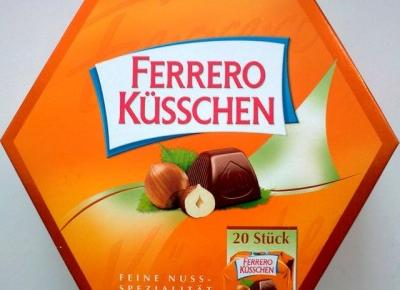 Pralinki Ferrero Kusschen - Czar Słodyczy