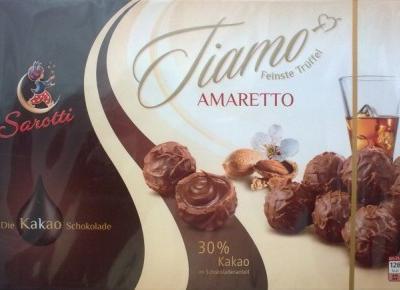 Tiamo Cognac-Sahne/Amaretto - Sarotti