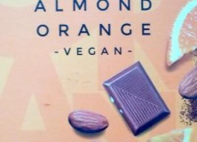 Czekolada Almond Orange Vegan - Ichoc