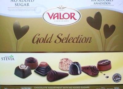 Bombonierka Gold Selection - Valor Chocolates