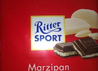 Czekolada marcepanowa - Ritter Sport - Marzipan