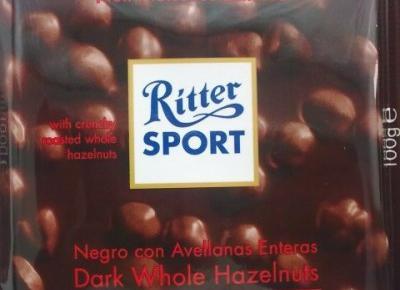 Dark Whole Hazelnuts - Ritter Sport