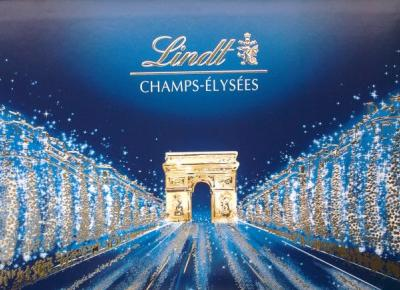 Zimowa bomboniera Champ Elysees - Lindt