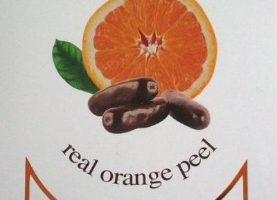 Skórki pomarańczowe drażerowane w czekoladzie - Chocolate Garden