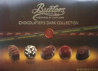 Bombonierka Chocolatier's Dark Collection - Butlers