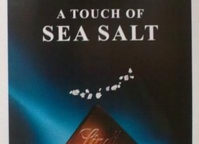 Ciemna czekolada z solą morską - Lindt