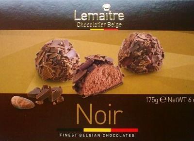 Belgijskie trufle czekoladowe Lemaitre - Meroso Foods