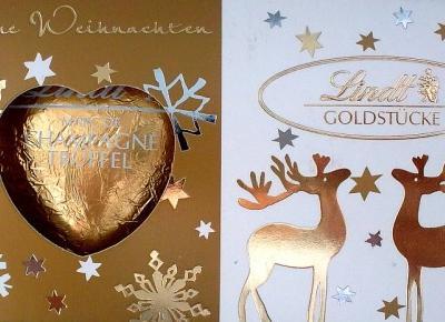 Świąteczne serca Shamagne Truffel - Lindt
