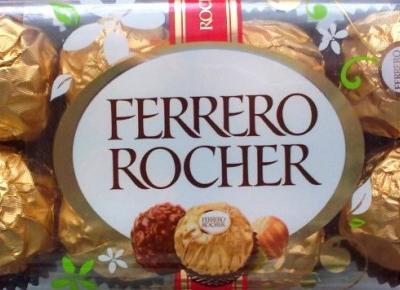 Praliny Ferrero Rocher - wybitny klasyk