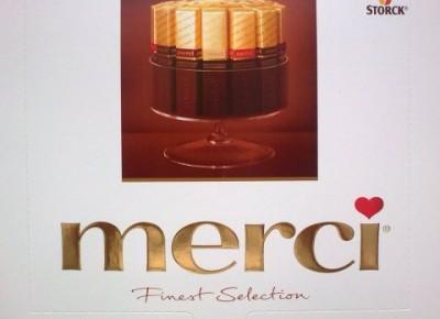 Merci Assorted Dark Chocolates - Storck