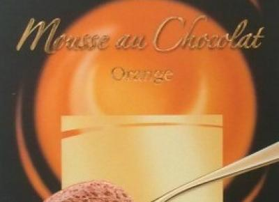 Czekolada Mousse au Chocolat Orange - Moser Roth