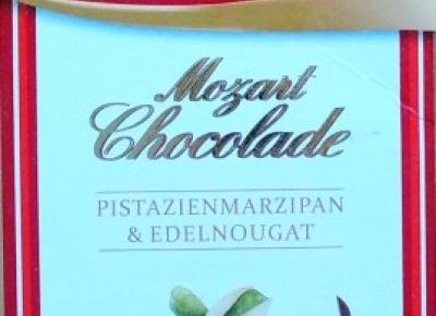 Pistacjowa czekolada mleczna Mozart Chocolade - Reber