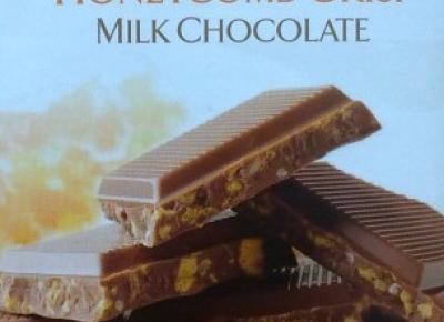 Mleczna czekolada z miodem Honeycomb Crisp Mik Chocolate - Butlers