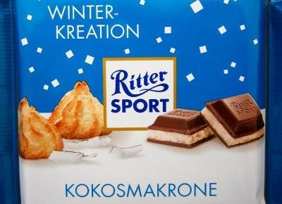 Czekolada mleczna z nadzieniem mleczno-kokosowym - Riter Sport