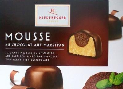 Bombonierka Mousse au chocolat auf Marzipan - Niederegger Lubeck